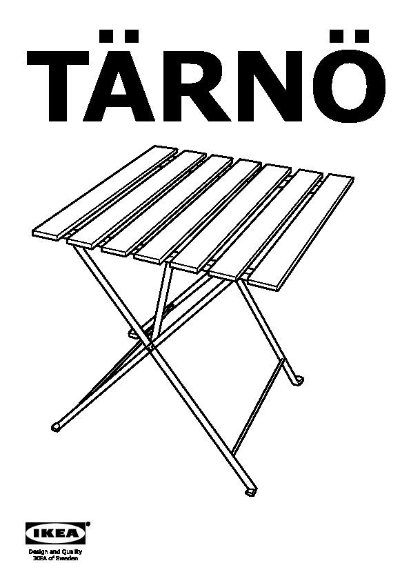 TÄRNÖ Table, extérieur