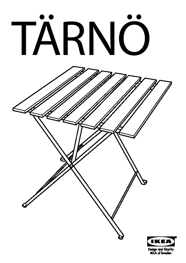 TÄRNÖ table