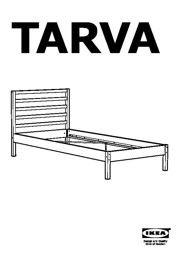 TARVA Bed frame pine (IKEA United States) - IKEAPEDIA