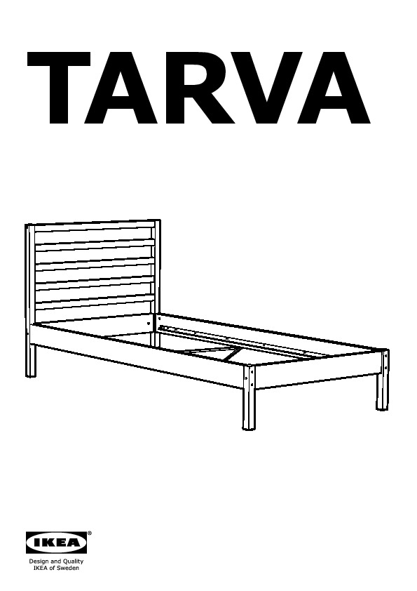 tarva bed frame pine ikea canada english ikeapedia. Black Bedroom Furniture Sets. Home Design Ideas