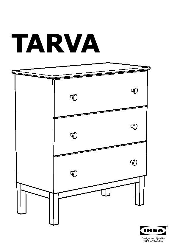 Cassettiera Ikea 3 Cassetti.Tarva Cassettiera Con 3 Cassetti Pino Ikea Italy Ikeapedia