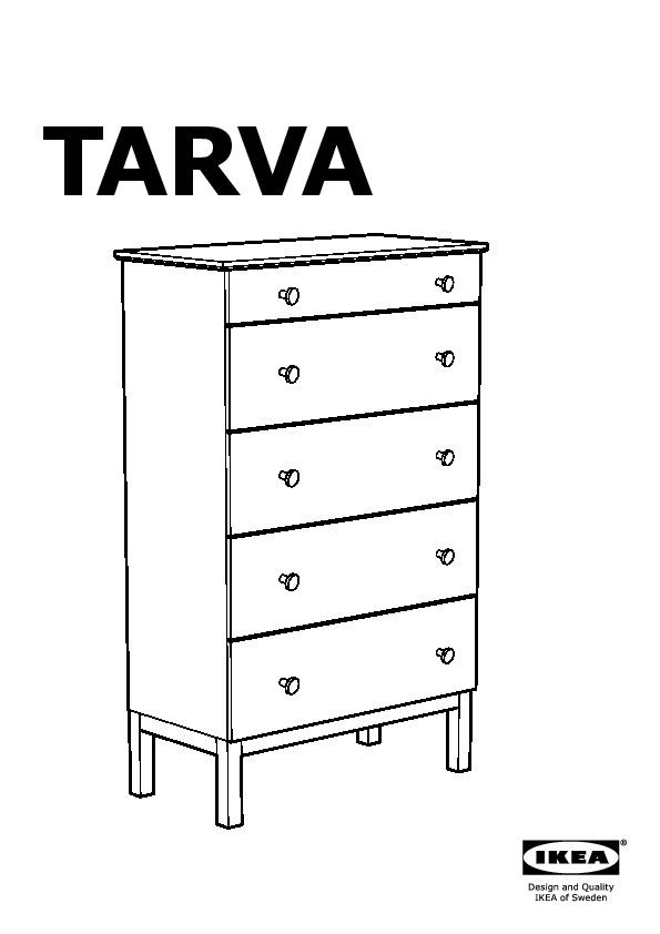Tarva Chest With 5 Drawers Pine Ikea Canada English Ikeapedia