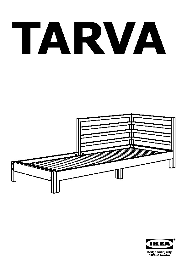 Letto Tarva Ikea.Tarva Structure Lit D Appoint Pin Ikea Canada French