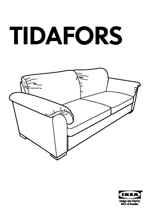 Pleasing Tidafors Sofa Bed Dansbo Medium Brown Ikea United States Ibusinesslaw Wood Chair Design Ideas Ibusinesslaworg