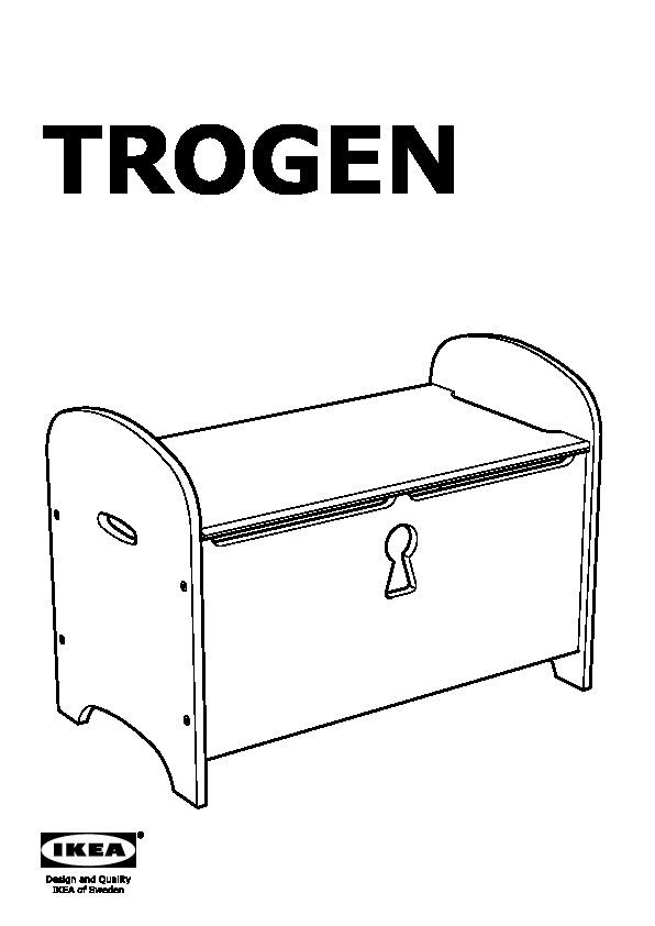 TROGEN Storage Bench