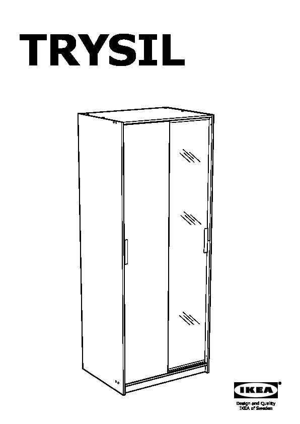 Guardaroba Trysil Ikea.Trysil Guardaroba Bianco Specchio Ikea Italy Ikeapedia