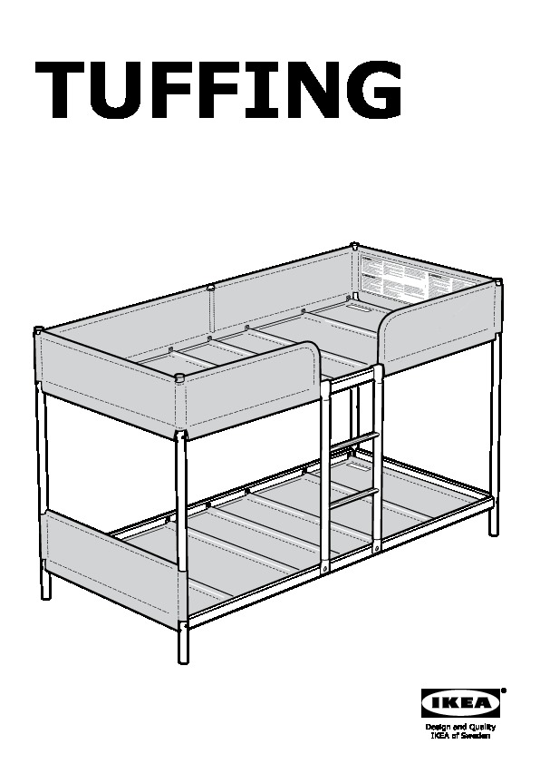 Tuffing Bunk Bed Frame Ikea Canada