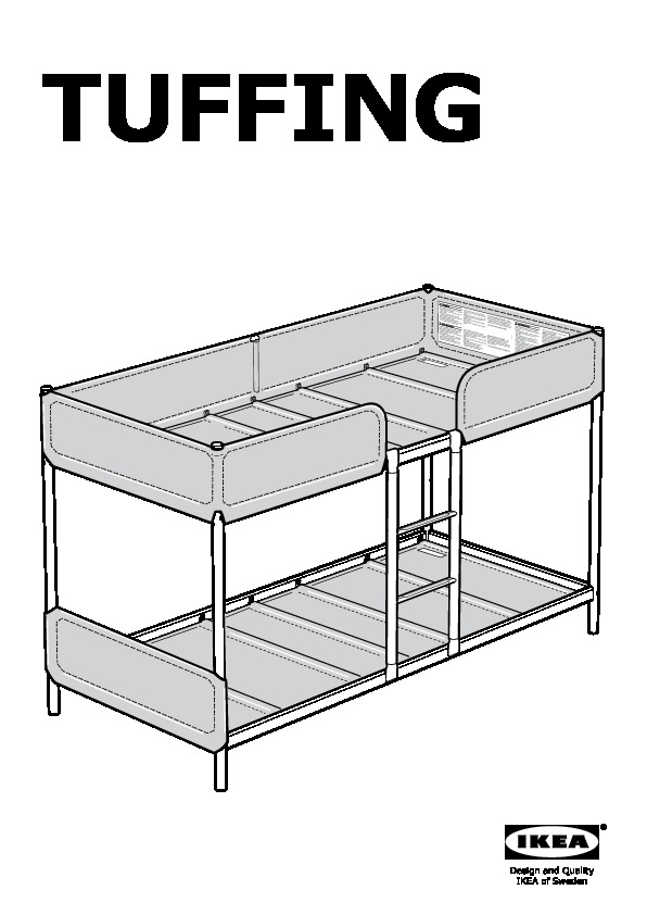 tuffing bunk bed frame ikea united states ikeapedia. Black Bedroom Furniture Sets. Home Design Ideas