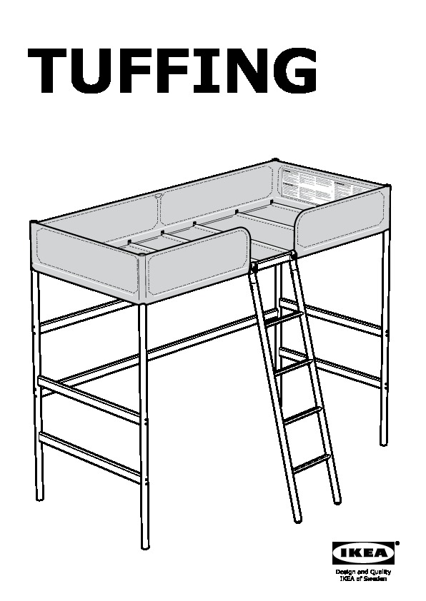 Tuffing Loft Bed Frame Ikea Canada English Ikeapedia