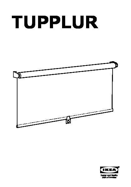 tupplur store d roulant occultant noir ikea switzerland ikeapedia. Black Bedroom Furniture Sets. Home Design Ideas