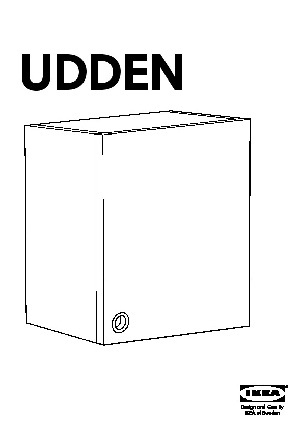 udden wall cabinet
