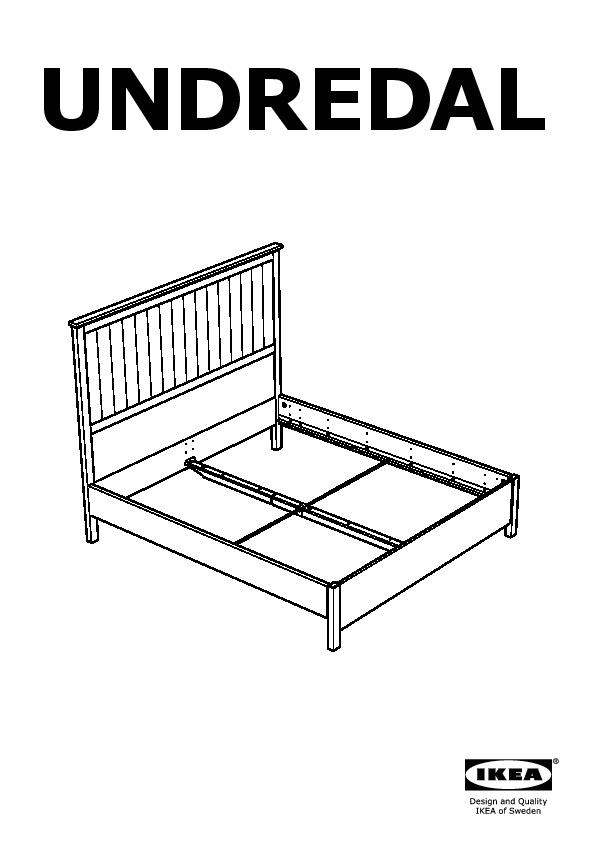 UNDREDAL bed frame