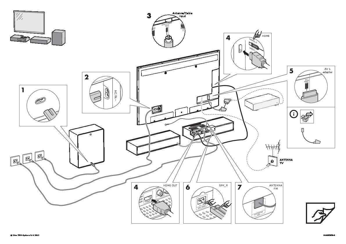 Himna Combinaz Tv 40 Sistema Audio 2 1 Nero Nero Ikea Italy  # Uppleva Dimension