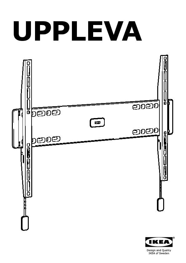 Uppleva Wall Bracket For Tv Fixed Ikea United States
