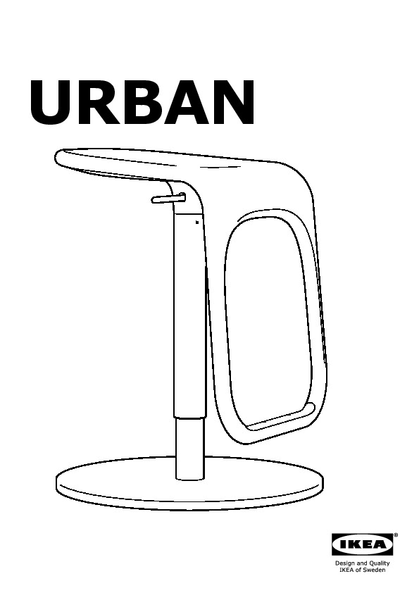 Wondrous Urban Bar Stool White Chrome Plated Ikea United States Pabps2019 Chair Design Images Pabps2019Com