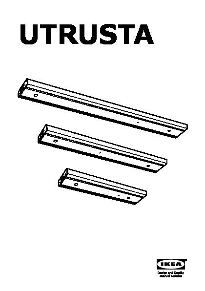 Luci Led Cucina Ikea.Utrusta Illuminazione Sottopensile A Led Color Alluminio