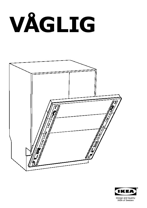 lave vaisselle ikea notice. Black Bedroom Furniture Sets. Home Design Ideas