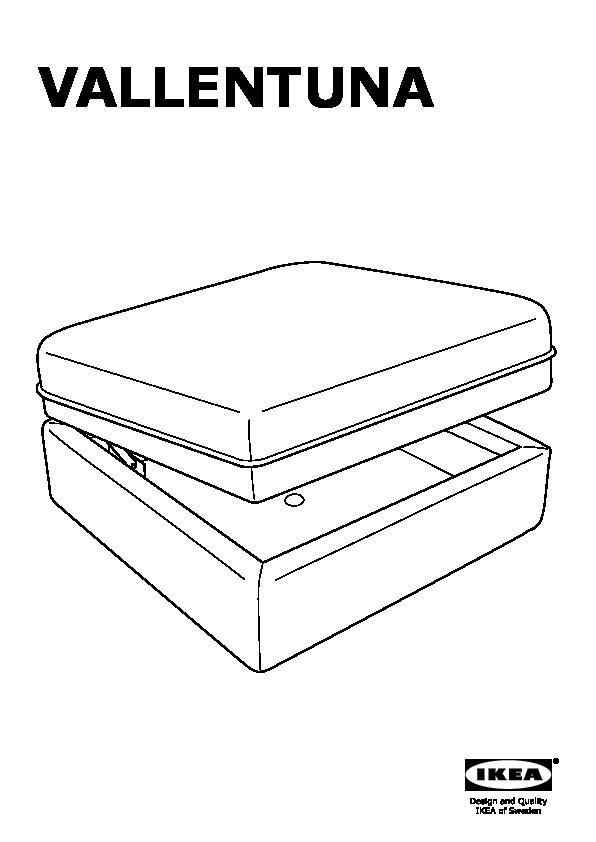 vallentuna canap avec lit murum noir ikea canada french ikeapedia. Black Bedroom Furniture Sets. Home Design Ideas