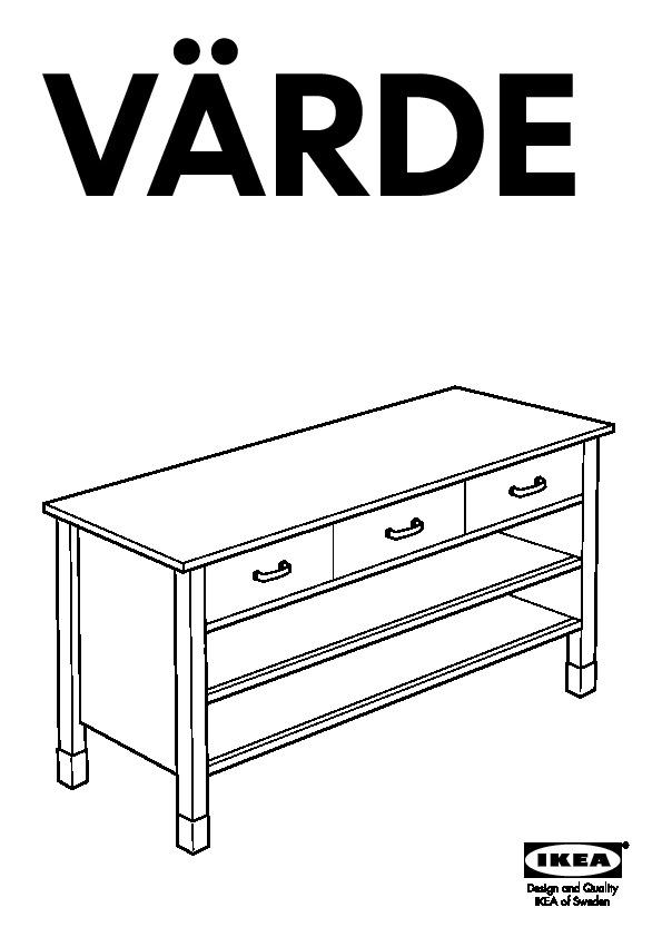Värde élément Bas Bouleauplaqué Bouleau Ikea France