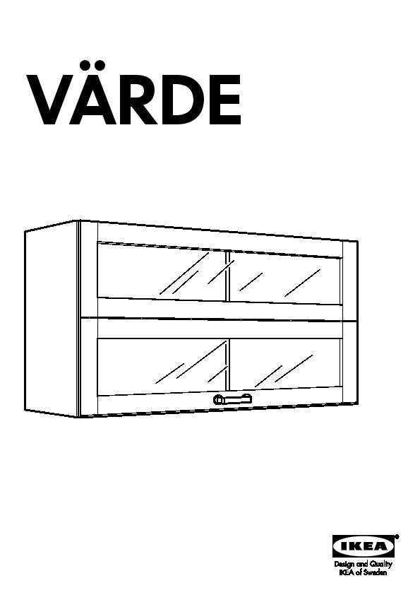 Värde Vitrine Murale Bouleau Ikea France Ikeapedia