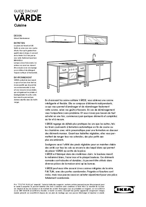 Värde élément évier Et Plan De Travail Bouleau Blanc Ikea