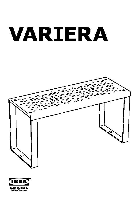 RATIONELL VARIERA Demi étagère blanc (IKEA France)   IKEAPEDIA