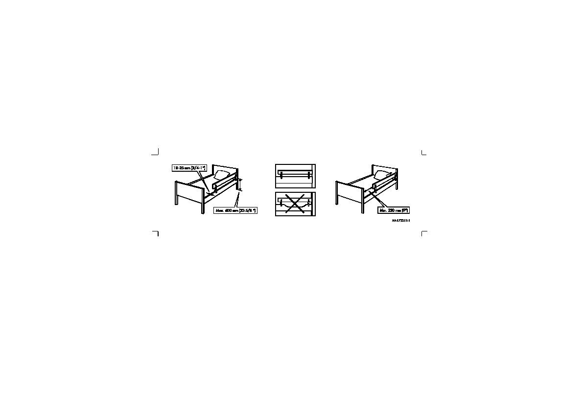 vikare barri re lit blanc ikea france ikeapedia. Black Bedroom Furniture Sets. Home Design Ideas