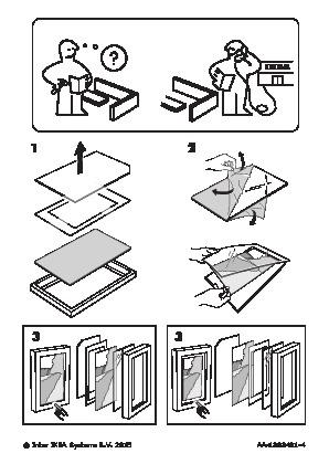 VIRSERUM Frame dark brown (IKEA Canada (English)) - IKEAPEDIA