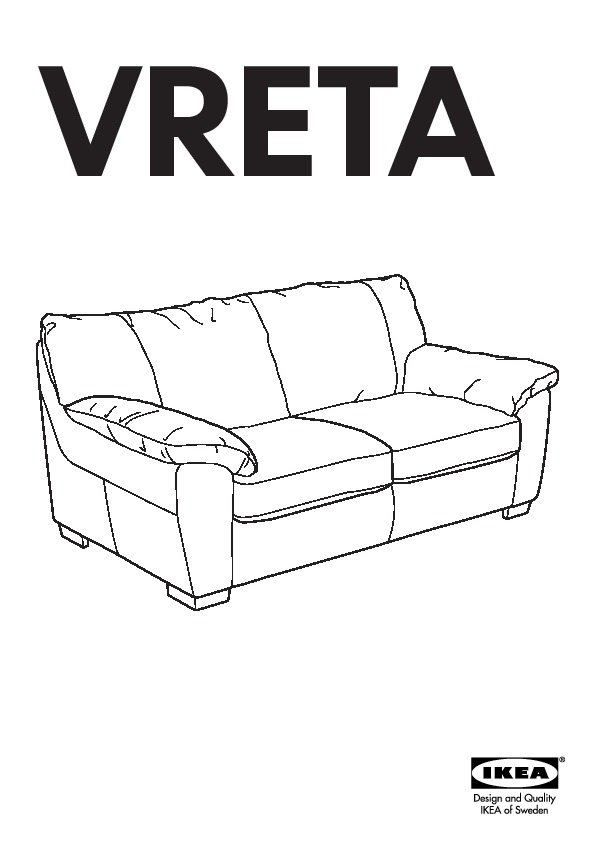 VRETA Canapé-lit Mjuk ivoire (IKEA Canada (French ...